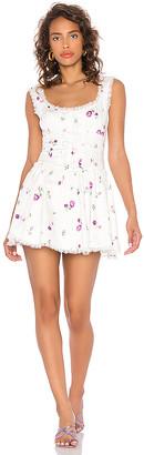 For Love & Lemons Violet Mini Dress