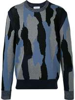 Cerruti patterned jumper