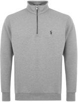 Ralph Lauren Half Zip Sweatshirt Grey