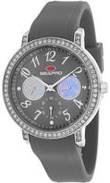 Seapro SP4413 Women's Swell Grey Silicone Watch with Crystal Accents