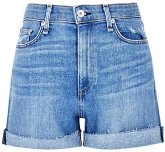 Rag & Bone Nina blue denim shorts