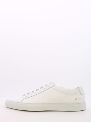 Common Projects Sneaker White Leather