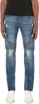 True Religion Rocco Cargo Moto Slim-fit Relaxed Skinny Jeans