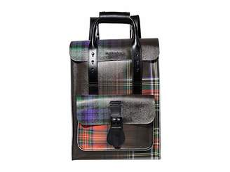 Dr. Martens Tartan Clash Small Leather Backpack