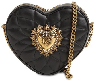 Dolce & Gabbana Hart Devotion Quilted Leather Bag