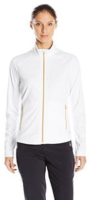 Cutter & Buck Women's Cb Drytec Long Sleeve Saundra Full-Zip