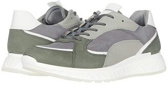 Ecco ST1 Trend Sneaker (Lake/White/Titanium/Wild Dove) Men's Shoes