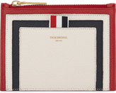 Thom Browne Striped Leather Coin Purse