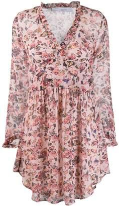 IRO floral flared dress