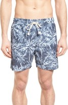 Sol Angeles Men's Jungle Print Swim Trunks