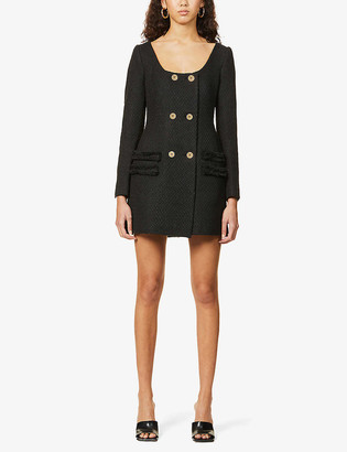 Camilla And Marc Eleanor double-breasted tweed mini dress