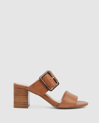 Jane Debster - Women's Brown Heeled Sandals - Nate - Size One Size, 37 at The Iconic