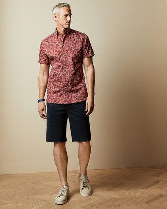 Ted Baker BUENOTT Tall cotton shorts