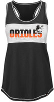 Majestic Women's Baltimore Orioles Gametime Glitz Tank Top