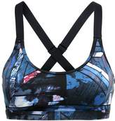 Roxy LHASSA Sports bra anthracite blur paint