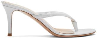 Gianvito Rossi White Calypso 70 Heeled Sandals