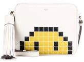 Anya Hindmarch Pixel Smiley Leather Cross Body Bag