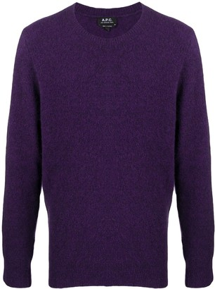 A.P.C. Long-Sleeve Knit Jumper