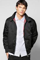 Boohoo Classic Tartan Lined Harrington Jacket