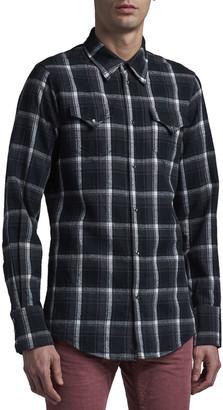 DSQUARED2 Men's Plaid Flannel Western Shirt