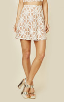 For love and lemons metz mini skirt