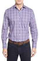 Peter Millar Men's Regular Fit Plaid Sport Shirt