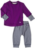 Appaman Sweatshirt/Legging Set (Baby) - Passion Pit-6-12 Months