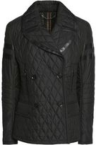 Belstaff Owen Leather-Trimmed Quilted Shell Jacket