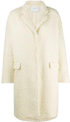 Giambattista Valli Textured Knit Coat