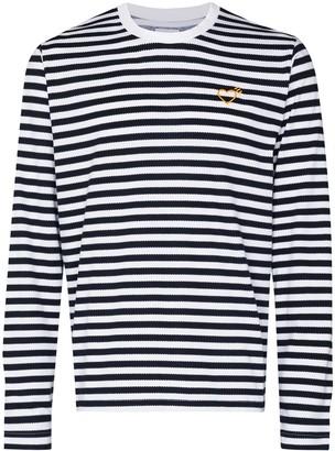 adidas x Human Made horizontal-stripe long-sleeve T-shirt