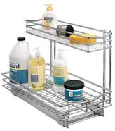 """Lynk Professional®; Pull Out Under Sink Drawer - 2 Tier Sliding Cabinet Organizer 11.5""""w x 21""""d"""