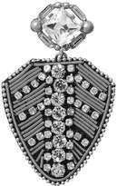 Banana Republic Crystal Medal Brooch