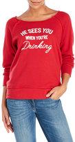 Ten Sixty Sherman Sees You Drinking Holiday Sweatshirt