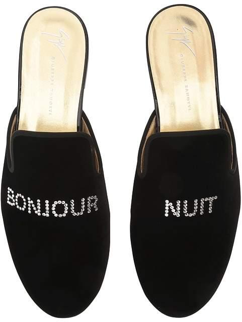 Giuseppe Zanotti Kevin Bonjour/Nuit Slide Men's Slide Shoes