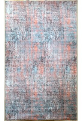 17 Stories Mccune Abstract Pink Area Rug Rug Size: Runner 3' x 10'