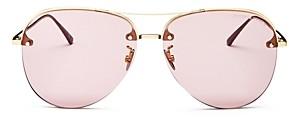 Bottega Veneta Women's Aviator Sunglasses, 61mm