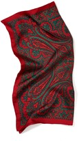 J.Mclaughlin Silk Scarf in Cavesson