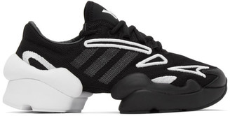 Y-3 Black and White Ren Sneakers