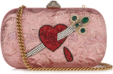 Gucci Broadway crystal-embellished clutch