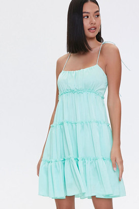 Forever 21 Tiered Mini Cami Dress