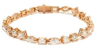 Shay Diamond & 18kt Rose-gold Tennis Bracelet - Rose Gold