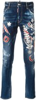 DSQUARED2 Cool Guy embossed patch jeans