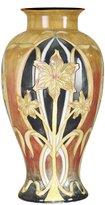 Dale Tiffany Lamps PA500197 Pasque Flower Decorative Vase