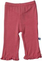 Kickee Pants Ruffle Pants (Baby) - Glacier-Newborn