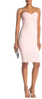 Love by Design Cross Front Midi Dress