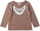 Mimi & Maggie Bejeweled Tee (Toddler & Little Girls)