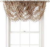 Royal Velvet Belgravia Rod-Pocket Waterfall Valance