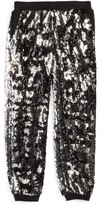 Milly Minis Girl's Sequin Jogger Pants