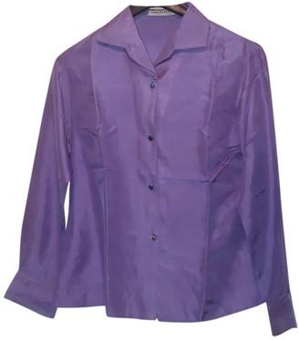Emilio Pucci Purple Silk Top for Women Vintage
