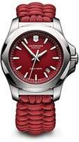 Victorinox Men's 'I.N.O.X.' Swiss Quartz Stainless Steel and Nylon Casual Watch